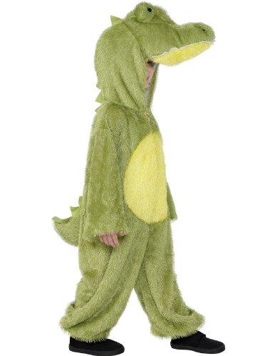 [Smiffys Big Boys' Crocodile Costume Age 7-9 Years Green] (Smiffys Crocodile Costume)