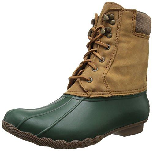 Verde Delle Marrone Sperry Top Avvio Shearwater sider Neve Donne WqFf7zc