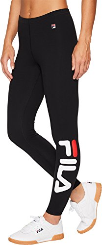 Fila Women's Karlie Tight Pants, Black, S by Fila (Image #3)