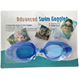 Kid Swim Goggles Anti-fog Lens and Hypoallergenic Silicone Gaskets Child Swimming Goggles