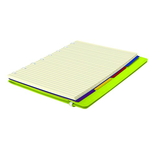 """A5 Notebook, 8.25"""" x 5.12"""", 112 Ruled Pages, Pear (B115013U) Photo #3"""