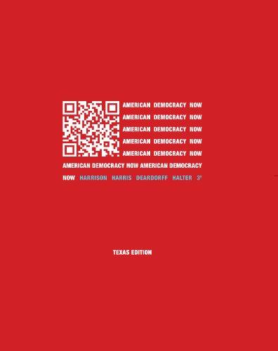 Download American Democracy Now Texas Edition, 3rd edition Pdf