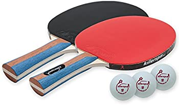 Killerspin JETSET 2 Table Tennis Paddle Set with 3 Balls