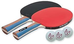 Killerspin JETSET 2 - Table Tennis Set with 2 Ping Pong Paddles and 3 Ping Pong Balls