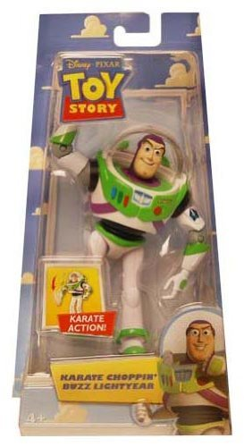 Disney / Pixar Toy Story Action Figure Karate Choppin' Buzz Lightyear by Disney