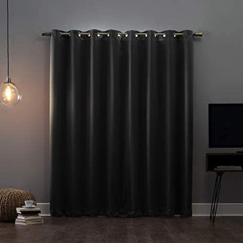 Sun Zero Oslo Theater Grade Extreme 100 Blackout Grommet Curtain Panel