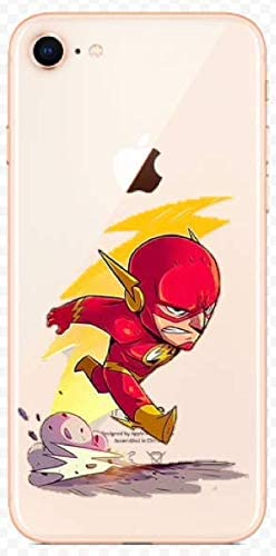 Coque iPhone 7 et iPhone 8 The Flash DC Comics Super Hero Silicone ...