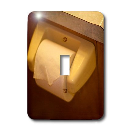 3dRose lsp_64978_1 A Roll Of Toilet Paper On The Hanger Sing
