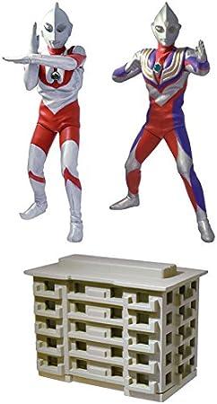 No.4 Apartment /& Luminous unit Bandai Ultimate Luminous Ultraman 09 Gashapon