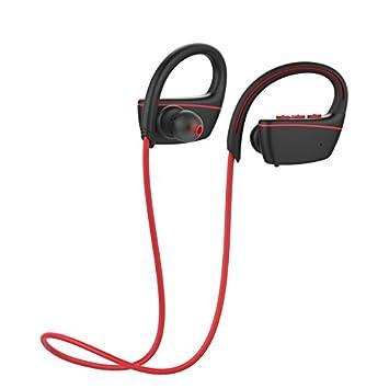 ZXzz Auriculares Bluetooth Ipx7 Auriculares inalámbricos a Prueba de Agua Deportes Bass Bluetooth Auriculares Csr con