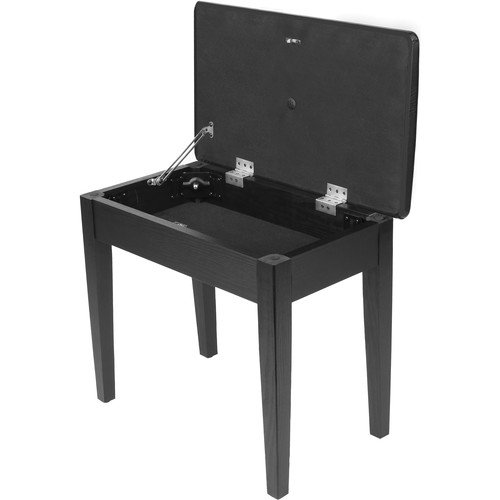 auray-pbs-fs-fixed-height-wood-style-piano-bench-with-storage-compartment