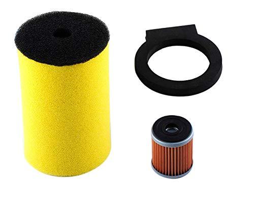 00 Air Filter for Yamaha Big Bear Timberwolf Kodiak Moto-4 with Oil Filter Parts ()