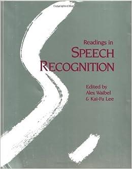 Maya ochoa readings in speech recognition downloads torrent fandeluxe Gallery