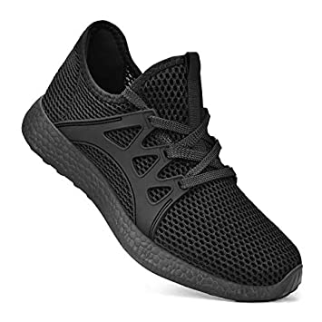 QANSI Womens Running Shoes Breathable Lightweight Walking Fashion Sneakers