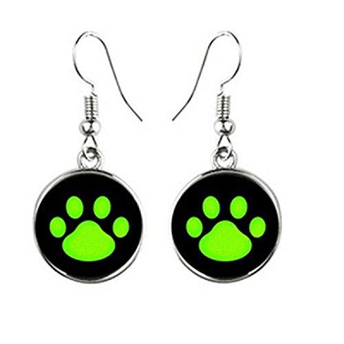 Miraculous Ladybug Rings,Earrings,Necklace,Cufflink Cat Noir Cosplay Jewelry Earring D
