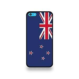 LD carcasa CASCO 5C 133 carcasa protectora para el iPhone 5C bandera de Nueva Zelanda Patrón