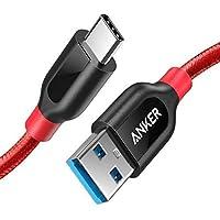 Anker, PowerLine+, 90 cm, USB-C-kabel naar USB 3.0 A, levenslange garantie, zeer bestendig voor USB-type C-apparaten…