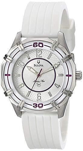 Bulova Women's 96L144 Solano Marine Star Rubber Watch ()