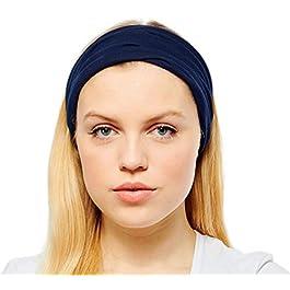 Antonia York Turban Headbands for Women Wide Head Wrap