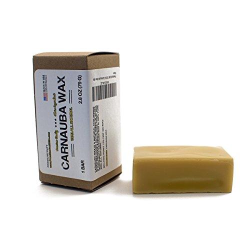 - PremiumCraft 100% Carnauba Wax Bar - 3.1