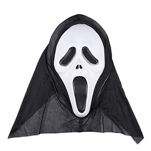 LMYSTAR Halloween Party Cosplay Mask Horror Grimace Mask Dance Festival Props