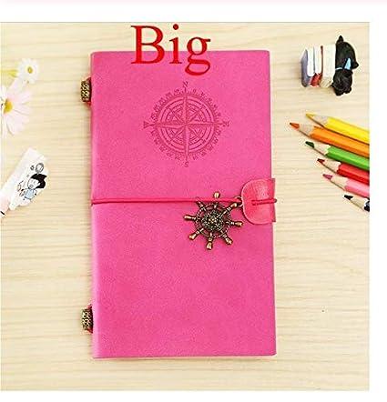 Cuero Diario Bala Cuaderno Cuaderno de dibujo Papel ...
