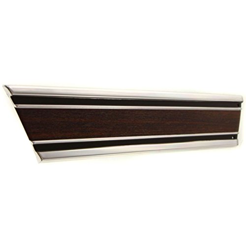 Diften 155-A0006-X01 - New Bedside Molding Suburban Full Size Truck Chevy Driver Left Side (Pickup Bedside Molding)