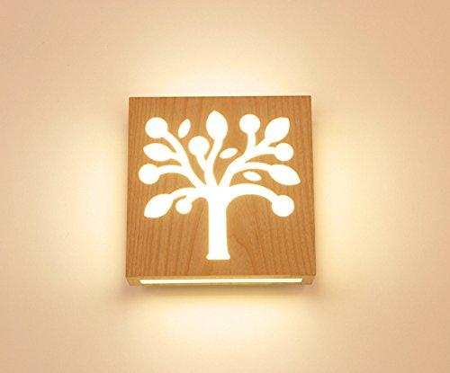 Bingnordic minimalista camera da letto lampada da comodino