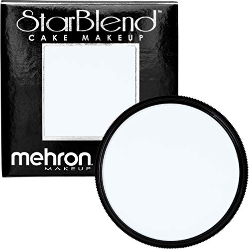 Mehron Makeup StarBlend Cake (2 ounce) (Moonlight White) ()