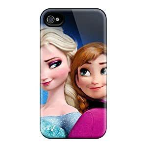 iphone covers High Quality Hard Phone Cover For Iphone 5c (uFa9579IVtR) Allow Personal Design Vivid Frozen Elsa And Anna Skin WANGJING JINDA