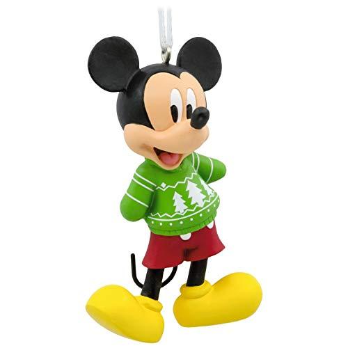 Hallmark Ornament Disney Mickey Mouse Christmas Sweater, Mickey Christmas Sweater, Mickey Christmas Sweater
