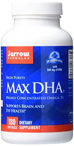 Jarrow Formulas Max DHA , Supports Brain and