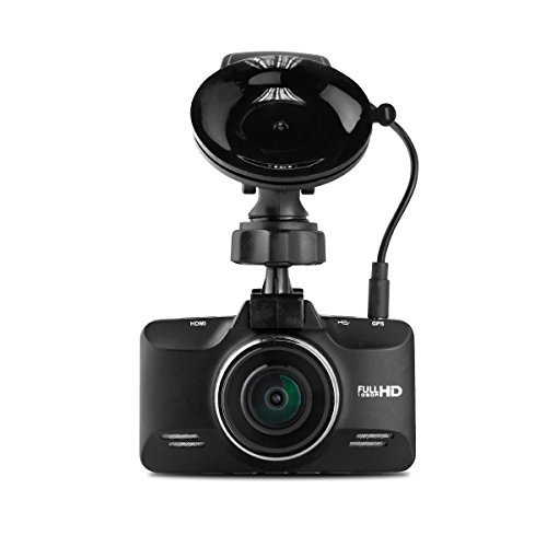 Black Box G98S GPS Dash Camera - Super HD Wide Angle Zoom Car DVR - Zinc Alloy Body by Black Box