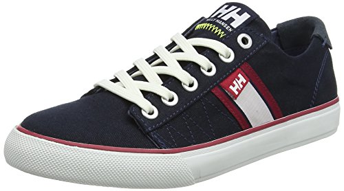 Helly Hansen 2018 Womens Salt Flag F-1 Boat Shoe - 11302_011 NAVY / OFF WHITE / VINTAGE