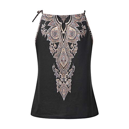 POQOQ Tank Top Women's Cut Out Sleeveless Bodice Bodysuit Party Clubwear XL ()