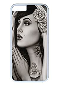 Case Cover For Apple Iphone 4/4S Case and Cover -Tattooed Art PC Case Cover For Apple Iphone 4/4S and Case Cover For Apple Iphone 4/4S White