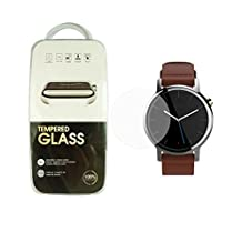 HD Clear Hardness Anti-Scratch Tempered Glass Screen Protector For Moto 360 2nd Generation 42mm
