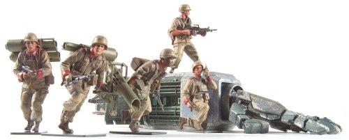 Bandai Hobby HGUC Anti MS Squad Set Mobile Suit Gundam: The 08th MS Team Model Kit (1/144 Scale)