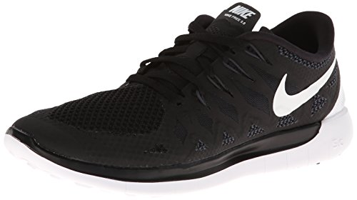Nike Women's Free 5.0 Black/White/Anthracite Running Shoe 8 Women US pay with paypal cheap online gpt1tJ