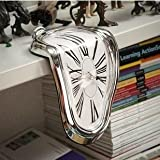 90 Degree Twist Time 3d Wall clock Home DIY Decor art watch mirror sticker Origi