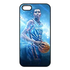 Perfectly Designed iPhone 5/5s TPU Case with Oklahoma City Thunder Kevin Durant Image-by Allthingsbasketball