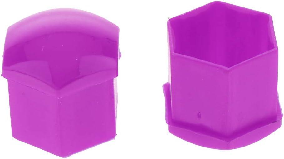 Universal Fitment Wheel Lug Nut Cap Red Flameer 20pcs New Plastic Wheel Lug Nut Caps
