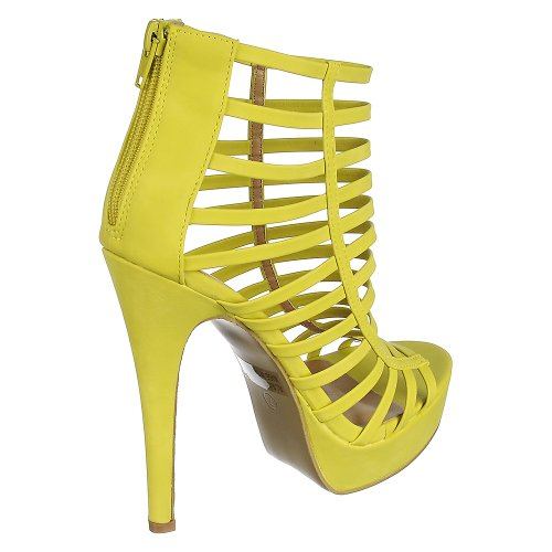 Starburst High Dress Heel lime green Glaze 5 Starburst Glaze pqwIXFE6