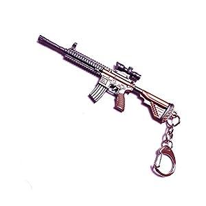 PINZU Metal PUBG Gun Keychain...