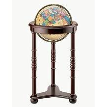 Replogle Globes Lancaster Illuminated Globe, Antique Ocean, 12-Inch Diameter