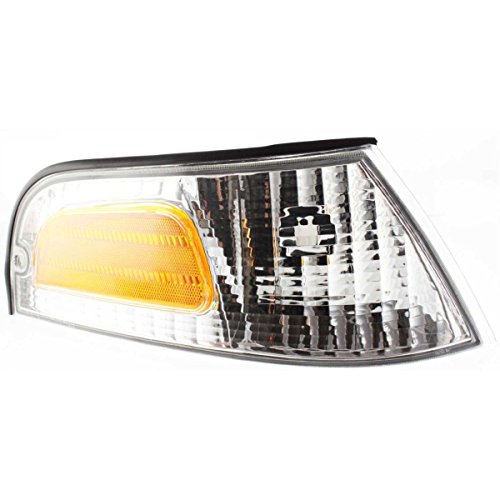 - New Corner Light Parking Side Marker Lamp Passenger Right RH Hand FO2521147 (2000 Ford Crown Victoria Police Interceptor)