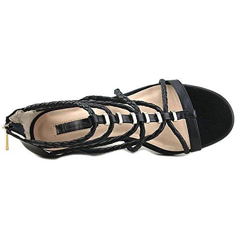 Inc Internationale Concepten Womens Makera Open Teen Casual Strappy Sandalen Zwart