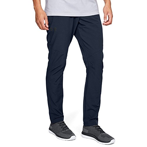 Under Armour Men's Wg Woven Pants, Academy (408)/Black, Small by Under Armour (Image #1)