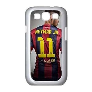 Neymar 001 Samsung Galaxy S3 9300 Cell Phone Case White xlb2-305763