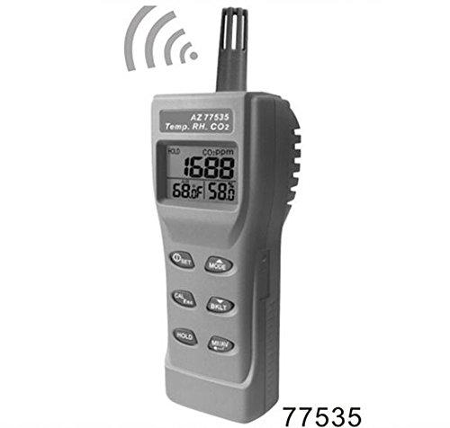 Dioxide Carbon Sensor Gas (SSEYL AZ-77535 Handheld CO2 Detector ,Carbon Dioxide Gas Detector Tester)
